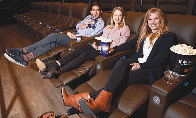 People sitting in the theater